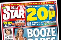 Daily Star cuts newsagents' margin