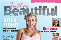 Plus-sized women's online magazine to launch in print