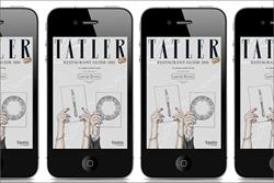 Tatler launches restaurant guide app