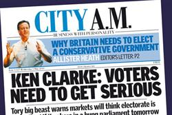 City AM to publish one-off election special