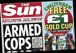 The Sun raises cover price in the North
