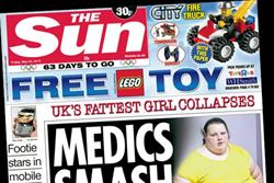 The Sun plans Euros and Olympics assault