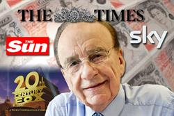 Murdoch's News Corp set to become the UK's biggest advertiser