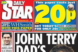 NEWSPAPER ABCs: Daily Star suffers April setback