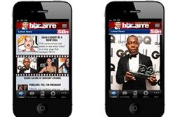 The Sun launches iPhone app for celeb gossip column Bizarre