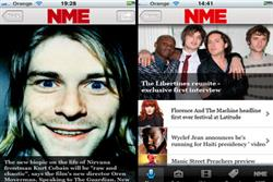 NME invests in digital with news and ticket app