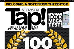 Future's Tap! magazine creates own iPad app