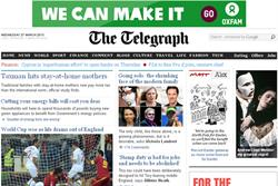 Telegraph launches paywall