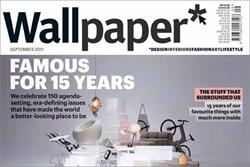 Wallpaper magazine celebrates 15 years in the business