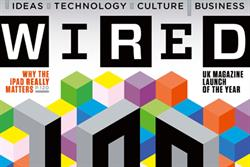 Wired celebrates first anniversary with ad campaign