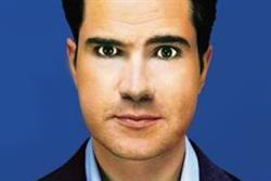 Jimmy Carr takes on the ad break during C4 Comedy Gala