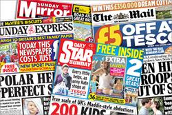 Circulation of Sunday tabloids rocket 66% following NotW closure