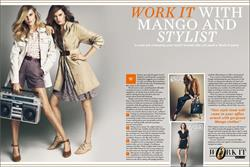 Mango targets office women through Stylist magazine