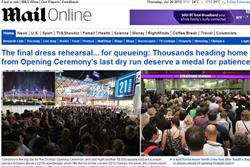 Mail Online is ray of light in difficult June