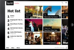 Time Out launches free iPad app with MasterCard sponsorship