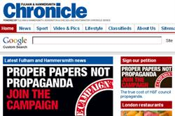 MPs defend local newspapers against council rivals