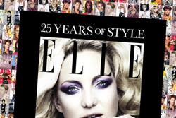 Elle launches ad campaign for 25th anniversary