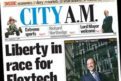 City AM celebrates five years and has sights on growth
