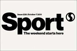 Sport magazine in redesign for fifth birthday