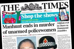 The Times latest publisher to use Aurasma AR technology