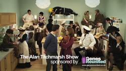 Genes Reunited sponsors The Alan Titchmarsh Show