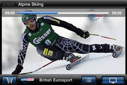 Eurosport launches live Vancouver Winter Olympic Games app
