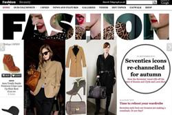 Telegraph unveils online fashion and shopping site