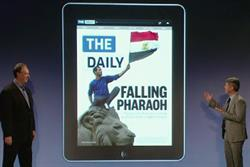 Murdoch's The Daily arrives: a 'new and robust voice' in tablet devices