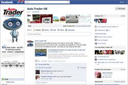 Auto Trader drives on board Facebook Timeline