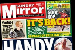 Trinity Mirror sustains post-NotW Sunday circulation boost