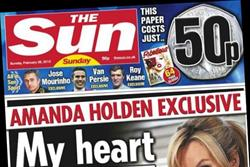 NEWSPAPER ABCs: Auditor confirms impact of News International's first Sunday Sun