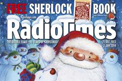 Festive magazine covers: Santa returns to Radio Times for first time since 2009