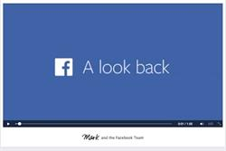 Facebook's 'Look Back' highlights commitment to video strategy