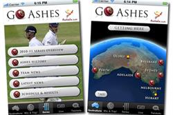 Tourism Australia opens Ashes ad series with iPad app