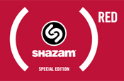 Shazam launches (Red) iPhone app