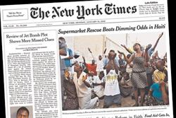 New York Times to adopt meter system for paid content