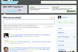CEO says 600 plus advertisers now using Twitter
