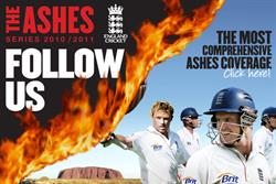 Ashes interest doubles ECB's digital audience