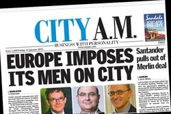City AM to charge for app