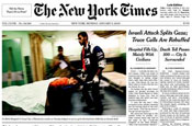 New York Times launches front page ads