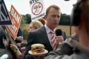 Burger King takes on 'polygameat' in TV campaign