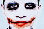 Obama depicted as sociopath The Joker in US poster riddle