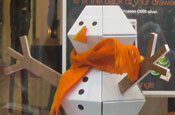 Orange snowman goes on sale by popular demand