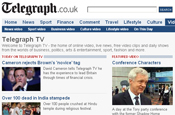Telegraph.co.uk partners with Blinkx for ad-sharing deal