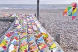 More4 'triangular idents' by 4Creative