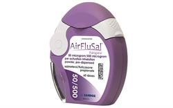 New salmeterol/fluticasone dry powder inhaler for COPD
