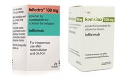 Remsima and Inflectra: new infliximab 'biosimilars'