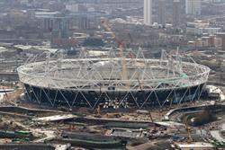 London 2012 revives branded stadium 'wrap' idea
