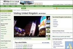 VisitBritain pushes visitors to TripAdvisor