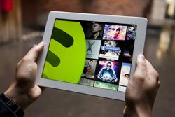 Spotify launches iPad app